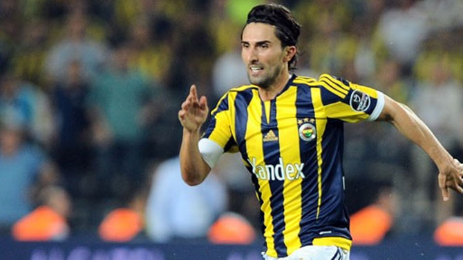 Fenerbahçeli futbolcu Hasan Ali Kaldırım